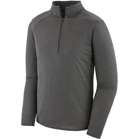Patagonia Capilene Thermal Weight Zip Neck Shirt Men Forge Grey - Feather Grey X-Dye